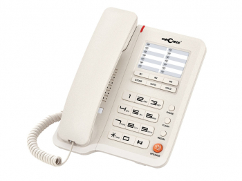 Telefon cu fir de masa alb A40 Concorde Telefoane