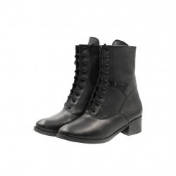 Ghete Dama Iulis Shoes Din Piele Naturala 100 Negru 459 N marimea 36
