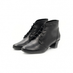 Ghete Dama Iulis Shoes Din Piele Naturala 100 Negru 464 N marimea 39