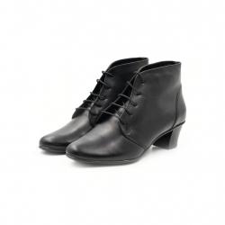 Ghete Dama Iulis Shoes Din Piele Naturala 100 Negru 464 N marimea 41