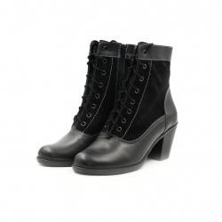 Ghete Dama Iulis Shoes Din Piele Naturala 100 Negru 469 N marimea 36