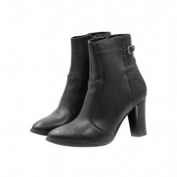 Ghete Dama Iulis Shoes Din Piele Naturala 100 Negru 490 N marimea 39