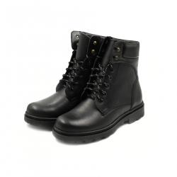 Bocanci Barbati Iulis Shoes Din Piele Naturala 100 Negru 310 N marimea 45