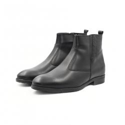 Ghete Barbati Iulis Shoes Din Piele Naturala 100 Negru 304 N marimea 45