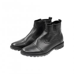 Ghete Barbati Iulis Shoes Din Piele Naturala 100 Negru 305 N marimea 45