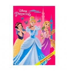 Carte de colorat pentru copii printese celebre din desene animate Topi Dreams Carti