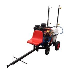 Atomizor pulverizator vita de vie tractabil tip remorca BSR 100 REM1 cu 6 duze pentru motocultoare ATV Atomizoare si pompe de stropit
