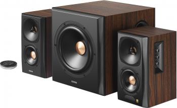 Boxe Edifier 2.1 S360DB 155W Bluetooth Telecomanda Brown