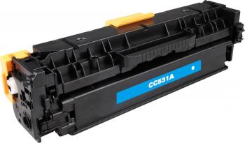 Toner HP Color Laserjet CP2027 N and nbsp 2800 pagini QPRINT cyan Compatibil