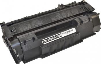 Toner HP Laserjet P2014 N and nbsp 3000 pagini QPRINT negru Compatibil