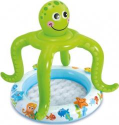 Piscina gonflabila pentru copii acoperita varsta 1-3 ani Caracatita Piscine