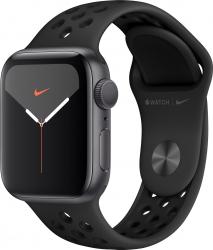 Apple Watch Nike Series 5 GPS 44mm Carcasa Space Grey Aluminium Case curea Anthracite Black Smartwatch
