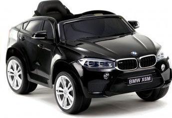 Masinuta electrica pentru copii BMW X6 M cu licenta originala un loc roti EVA telecomanda 2.4 Ghz negru Masinute si vehicule pentru copii