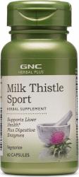 Supliment Alimentar GNC Herbal Plus and reg Milk Thistle Sport Extract din Seminte de Armurariu 60 cps