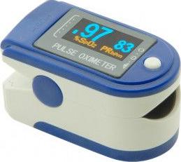 Puls-oximetru CONTEC CMS-50D cu pletismograma ecran LED puls 30-255 SpO2 0-99