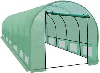 Sera solar pentru gradina 6x3x2m 18 mp ferestre usa fermoar cadru otel