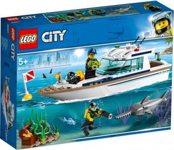 LEGO City Iaht pentru scufundari No. 60221 Lego