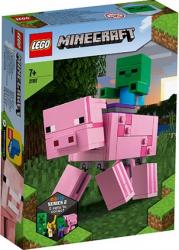 LEGO Minecraft Porc cu Bebelus zombi No. 21157 Lego
