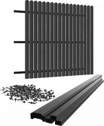 Gard Sipca Panou XL 1500 x 2000 / 16 RAL 8017