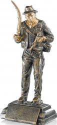Trofeu Statueta Pescuit Pescar Personalizat din Rasina 22 cm inaltime Cupe, trofee si medalii