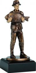 Trofeu Personalizat Pescuit Pescar 20 cm inaltime Cupe, trofee si medalii
