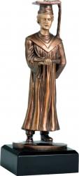 Trofeu Statueta Absolvire Absolvent Personalizat din Rasina 23 cm