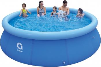 Piscina pentru copii Avenli cu inel gonflabil strat triplu PVC 366 x 76cm capacitate 5377 L Piscine