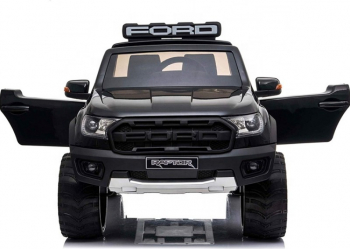 Masinuta electrica cu telecomanda Ford Ranger Raptor Negru Masinute si vehicule pentru copii