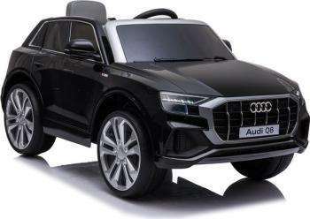 Masinuta electrica cu telecomanda Audi Q8 negru Masinute si vehicule pentru copii