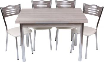 Set masa extensibila Mini Cordoba 90x60 cu 4 scaune eco Cordoba Seturi mobila bucatarie
