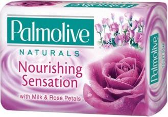 Pachet 10 bucati Sapun solid Palmolive Naturals Milk and Rose Petals 90g