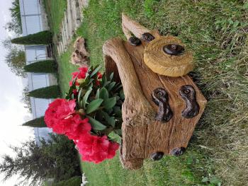 Jardiniera rustica model roaba Ghivece si suporturi