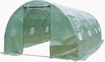 Sera gradina verde structura solida otel zincat 3x6m 18mp premium Sere si Solarii