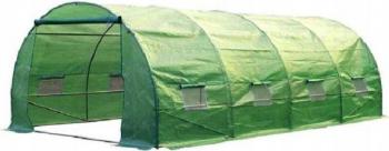 Sera gradina verde structura solida otel zincat 4 segmenti 6x3m Sere si Solarii