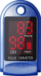 Pulsoximetru puls 30-250 bpm afisare SpO2 PR bara Puls culoare albastru