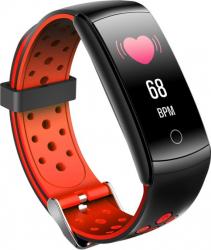 Bratara Fitness FitPro Q8L IPS Ritm Cardiac tensiunea arteriala calorii monitorizare somn Multimsport Functia Inot IP68 Negru Model 2020 Bratari Fitness