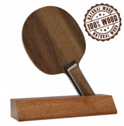Trofeu din Lemn Tenis de Masa cu inaltime 18 cm