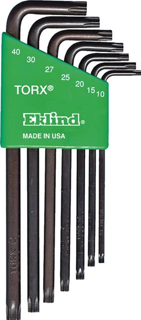Set chei cu profil trox cu cap trox 10-40 7pcs Eklind USA Prasitori