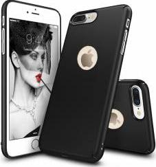 Husa telefon Iphone 7 ofera protectie Ultrasubtire - Silk Black Matte