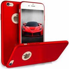 Husa telefon Iphone 7 ofera protectie Ultrasubtire - Silk Red Matte