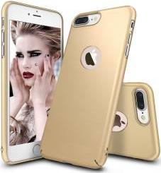 Husa telefon Iphone 8 ofera protectie Ultrasubtire - Silk Gold Matte