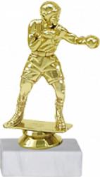 Trofeu Figurina Box cu inaltime 14 cm Cupe, trofee si medalii