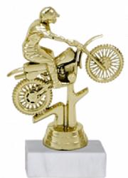 Trofeu Figurina Motocross cu inaltime 14 cm Cupe, trofee si medalii