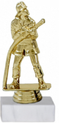 Trofeu Figurina Pompier cu inaltime 16 cm