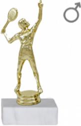 Trofeu Figurina Tenis de Camp cu inaltime 18 cm Cupe, trofee si medalii