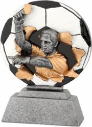 Trofeu Figurina din Rasina Arbitru cu inaltime 14 cm
