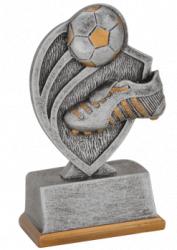Trofeu Figurina din Rasina Fotbal cu inaltime 11 cm