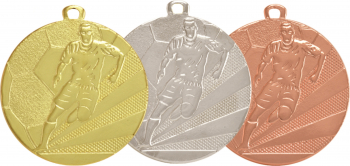 Medalii 3 bucati Auriu Argintiu Bronz cu 5 cm diametru Cupe, trofee si medalii