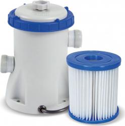 Pompa Recirculare cu Filtru Bestway 58381 pentru Filtrare Apa Piscina Debit 1249L/H Piscine