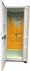 Toaleta cabina ecologica tip dus ICTET07P Portocaliu Toalete ecologice